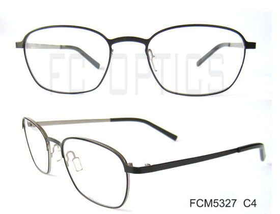 China Custom Spectacle Frames, Italy Designer Metal Glasses - China ...