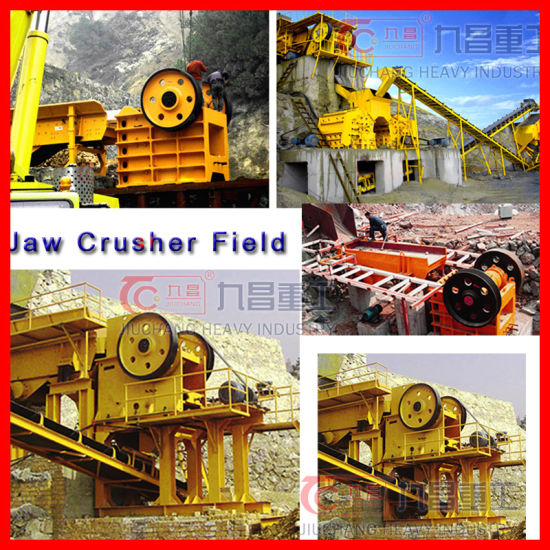 Jaw Crushing Production Line with High Quality in China pictures & photos