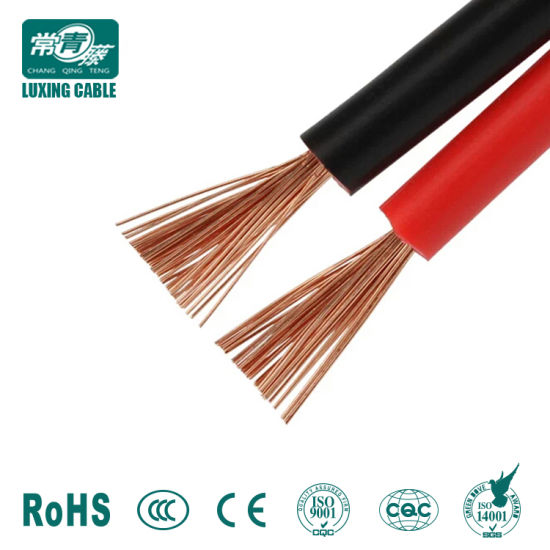 New Luxing Factory Price Red and Black 2 Core Speaker Cable Wholesale Rvb Cable Best Electrical Wire Prices pictures & photos