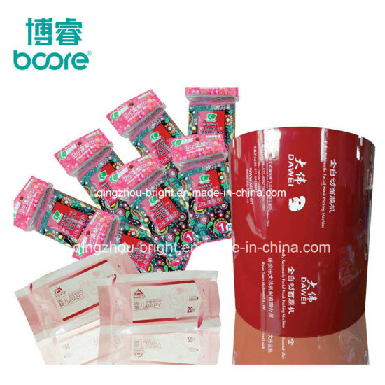 Pet/PE + Aluminium Foil Film for Cosmetics Flexible Packaging pictures & photos
