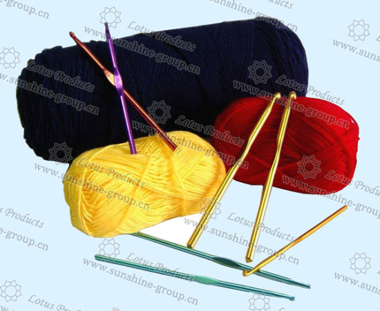 China New Crochet Needle Knitting Needles Aluminium Crochet Hook