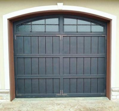 China Nice Iron Sectional Garage Doors China Iron Garage Door