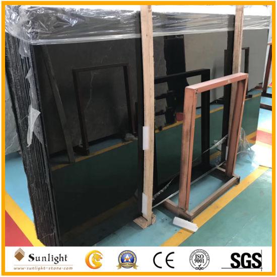 Wholesale Highly Quality Polished Black Jade Marble Slabs, Tiles, Countertops