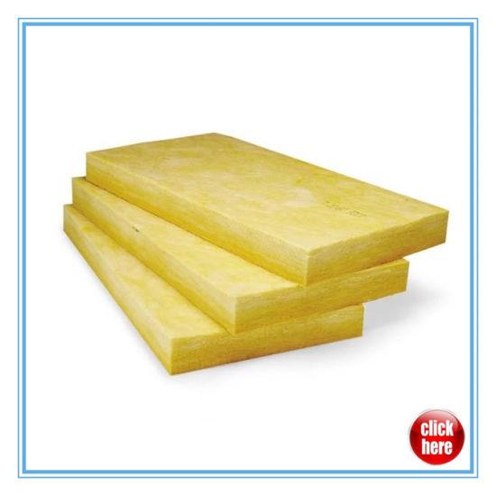 Thermal Insulation Fiberglass Wool Board/ Glass Wool Board of High Density