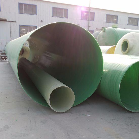 China Fiberglass GRP FRP Underground Drainage Water Supply