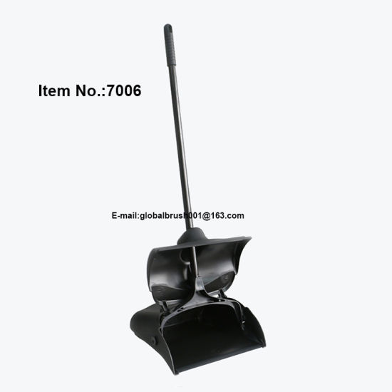 [Hot Item] Black Color Plastic Hotel Cleaning Dustpan Lobby