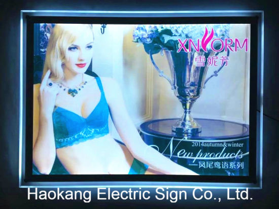 LED Signboard for Cloth Store Underwear Advertising Display pictures & photos