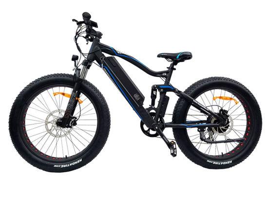 "26"" 36V-350W Snow Ebike E Bikes Bafang MID-Drive Motor Hidden Battery Suspension Fat Bicycle City Mountain E-Bike Electric Bike"