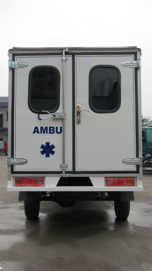 2015 Gaoline Medical Equipment Three Wheel Auxilium Ambulance pictures & photos