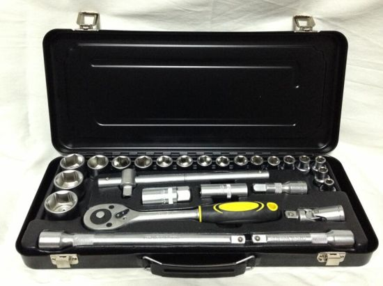 "Hand Tool-27PCS Socket Set (1/2"") pictures & photos"