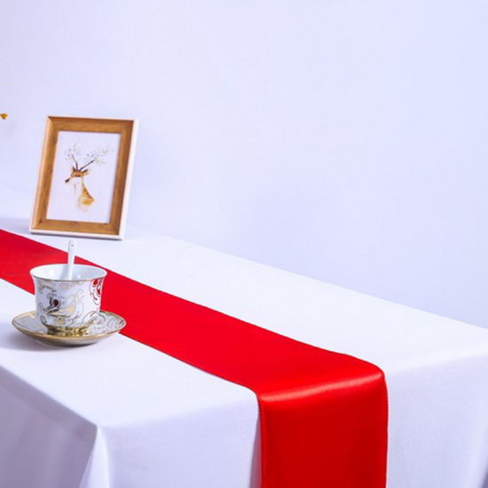 Wholesale Red Color Wedding Table Runners