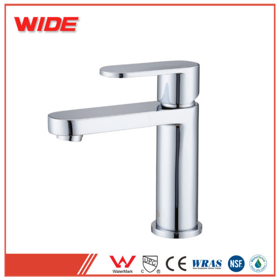 Watermark Cupc Sanitary Ware Copper Bathroom Basin Faucet pictures & photos