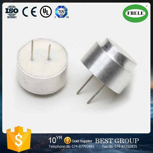 Aluminum 120dB 16mm Waterproof Ultrasonic Sensor
