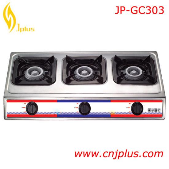 Kitchen Product Three Burner Gas Cooker Jp-Gcg303
