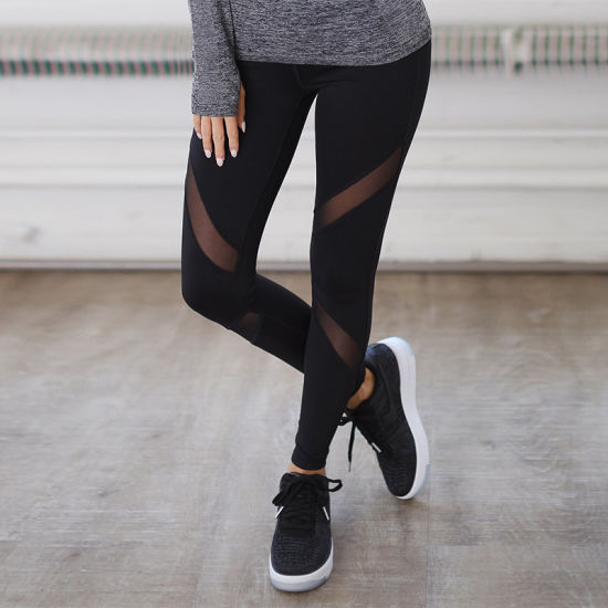 b7537c9bb9b13 Hot Sale Fitness Ladies Athletic Leggings Running Sportswear for Women