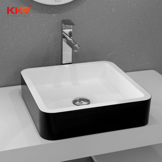 Concrete Corian Table Top Artificial Stone Acrylic Solid Surface Wash Basin