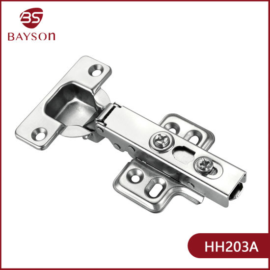 Clip on Hot Sell Soft Close Kitchen Cabinet Hinge (HH203)