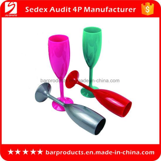 ed6ee37240d3 China BPA-Free Plastic Wine Glasses Unbreakable 100% Wine Goblet ...