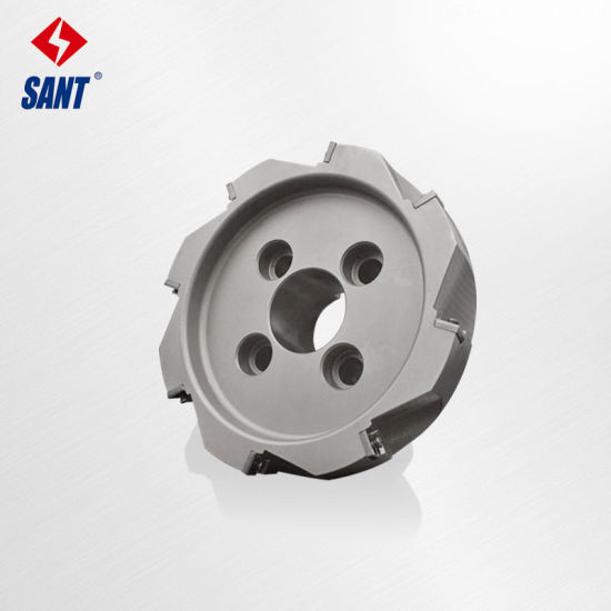 Carbide Insert Cutter Indexable Face Milling Cutting Tool
