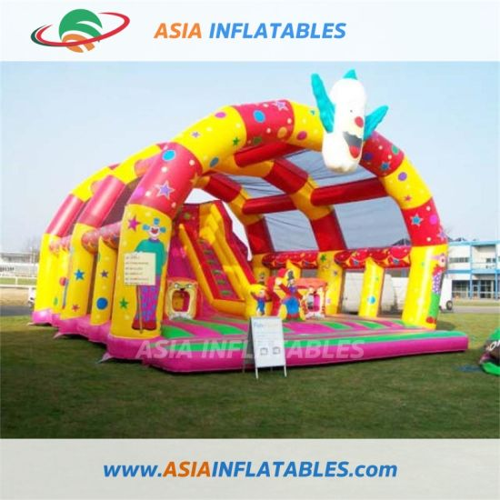 Commercial Hot Sale Inflatable Fun City /Inflatable Castle Bouncer pictures & photos