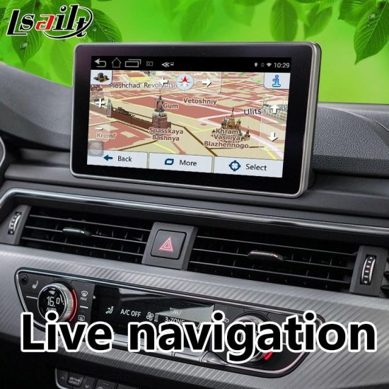 China Android 6 0 GPS Navigator for Audi A6/S6/A8/Q7/A4/A5/Q5/Q3/A1