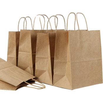 Manufacturers Wholesale Cheap Custom Logo Printing Recycled Kraft Paper Bag