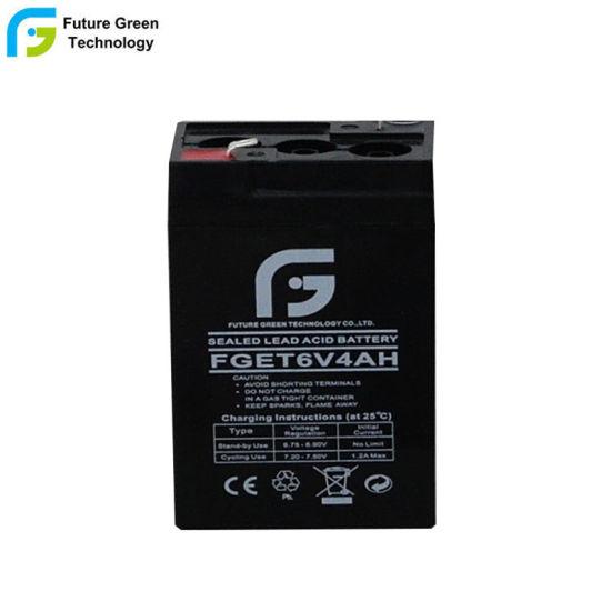 6V4.5ah Deep Cell Battery for Light