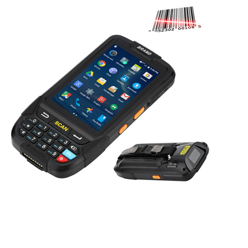 Bluetooth 1d 2D Barcode Scanner PDA Handheld Android Terminal with Sdk Demo  Software