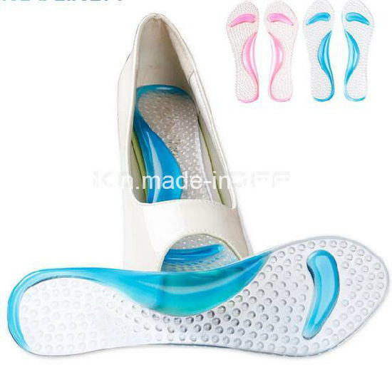 764f929250f Non-Slip Sandals High Heel Arch Cushion Support Silicone Gel Pads Shoes  Insole Pain Relief
