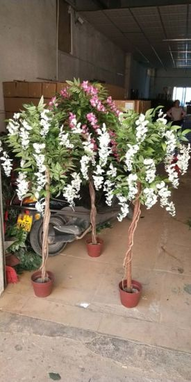 High Quality Artificial Flower Tree Westeria Gu1469163281735 pictures & photos