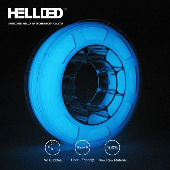 1.75mm PLA ABS Glow in The Dark 3D Printing Filament