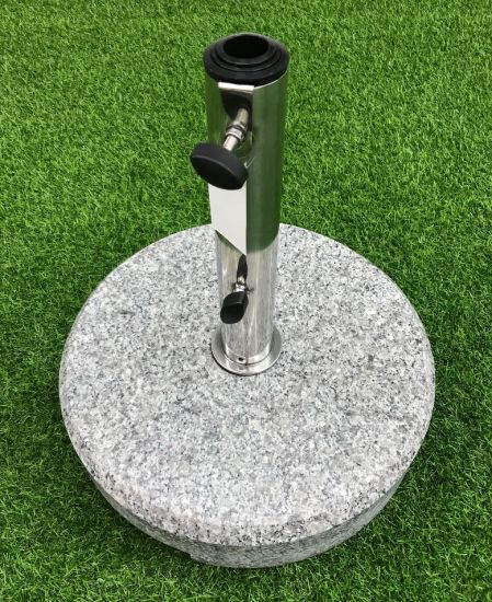 Outdoor Parasol Stand Umbrella Marble Stand