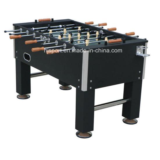 China Best Sale Big Size Black 5ft Kicker Foosball Soccer Table