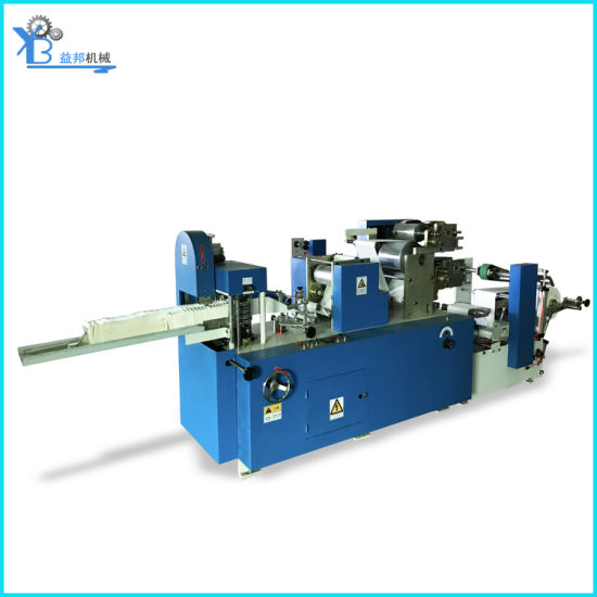 Digital Automatic Napkin Paper Folding Machine with Two Embossing & Two Color Printing with Good Quality