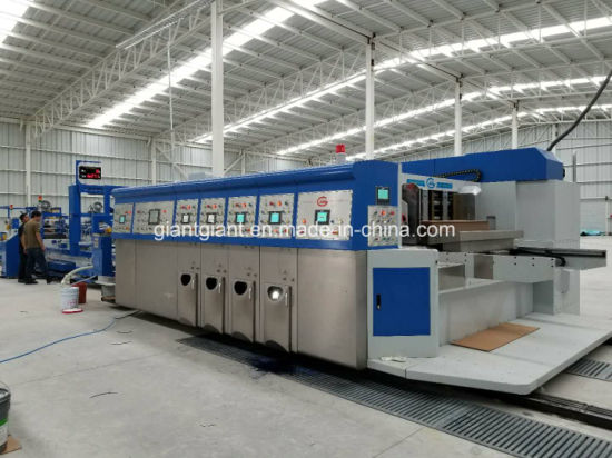 1200*2800 Automatic Corrugated Carton Box Flexo Longway Printing Mahicne