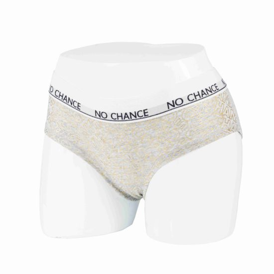 Lady's Brief/Underwear with Foil Printing, High Quality