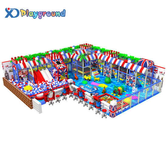 Customized Ocean Theme Indoor Soft Play Equipment with Ball Pool