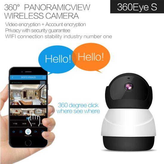 China 360eyes 1080P HD Snowman Wireless WiFi Network Surveillance