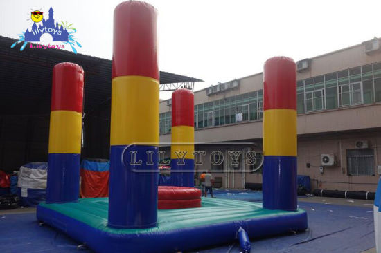 Giant Inflatable Amazing Bouncer and Trampoline Sport Games