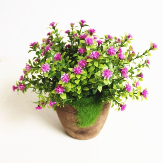 Artificial Plant Morning Glory Flower for Table and Hotel Decoration pictures & photos