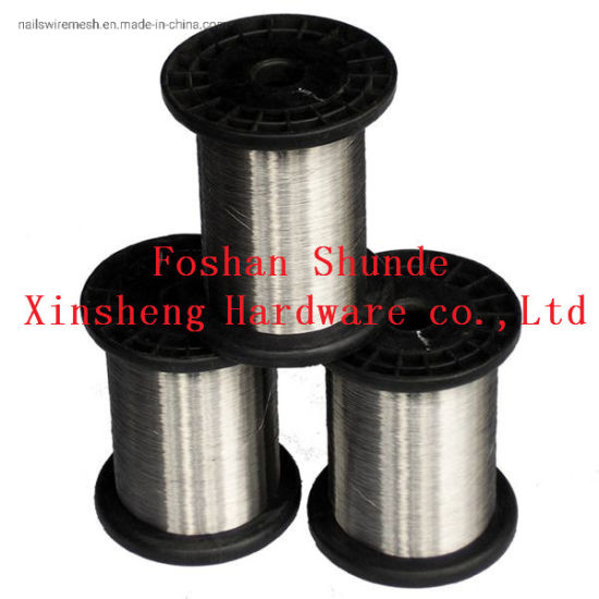 Factory Wholesale Affordable High Quality 202 Stainless Steel Wire Used for Filter or Barbecue Net