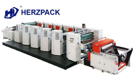 High Speed Non-Woven Flexo Printing Machine, Unit Type