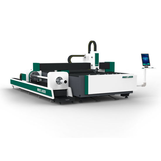 OREE 1KW-6KW CNC Fiber Laser Cutting Machine for Cutting Carbon Steel Stainless Steel Steel Alu Copper Metal Pipe and Tube MAX RAYCUS IPG laser cutter