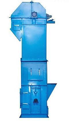 Steel Vertical Conveyor Belt Machinery Vertical Bucket Elevator