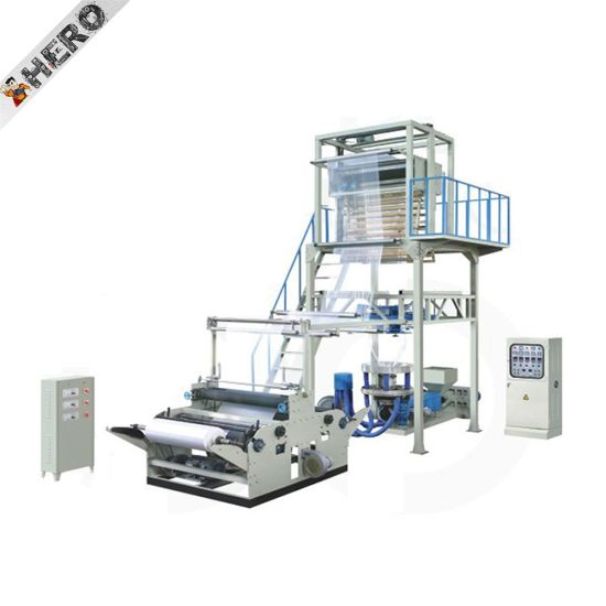 Hero Brand 20% Electricity Saving HDPE/LDPE Plastic Rolling Film Blowing Machine with Good Sales Service