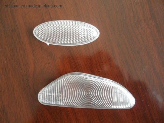 OEM Injection Moulded Plastic Car Motor Lamp Cover by Moulding Tooling