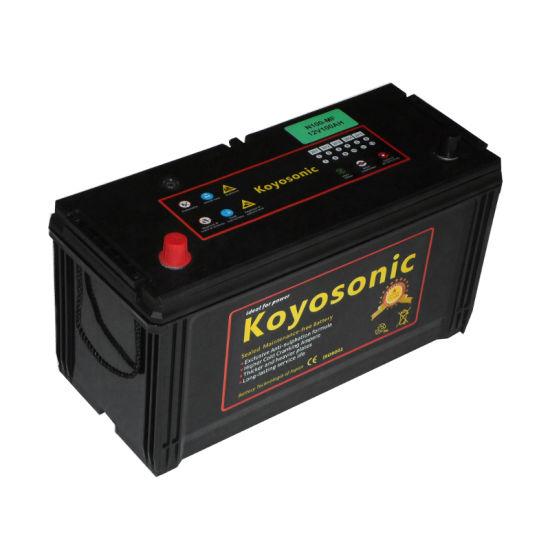 Maintenance Free Battery 12V 100ah Auto Battery 12V 100ah