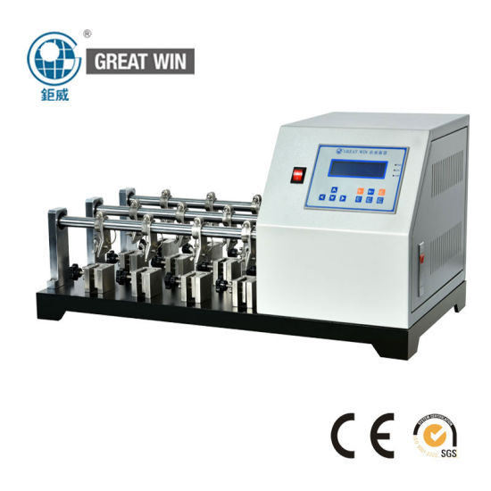 Professional High Quality Bally Leather Flexometer Flexing Resistance Test Machine Satra TM55 (GW-001)
