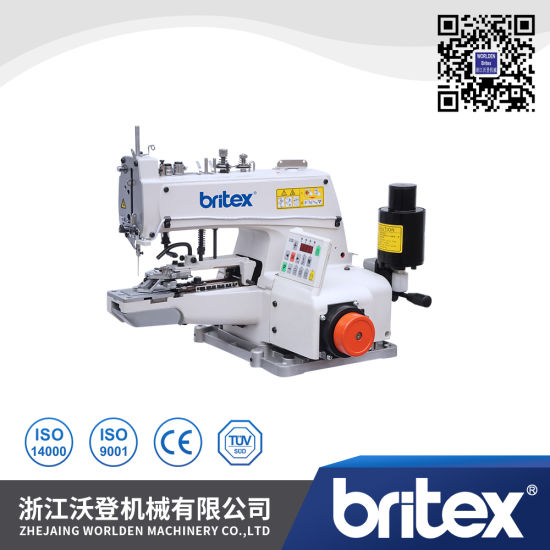 Br-373D Direct Drive High-Speed Button Attaching Sewing Machine
