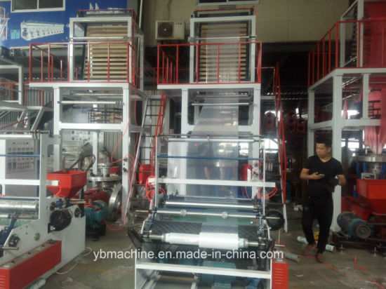 High Speed PE Blowing Film Machine with Rotary Die